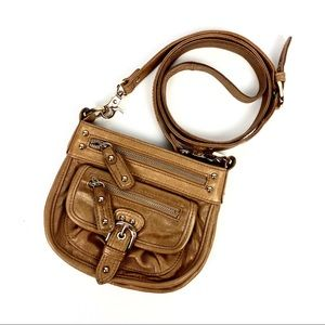 Junior Drake Bronze Miniature Crossbody Purse